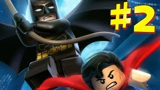 Lego Batman 2: DC Super Heroes - Walkthrough - Part 2 [HD] (X360/PS3/Wii/PC)