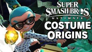 Super Smash Bros. Ultimate Costume Origins - Demo – Aaronitmar