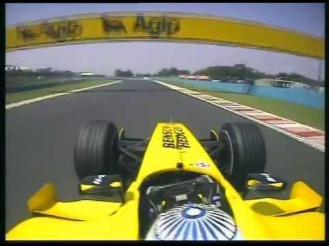 F1 Narain Karthikeyan Onboard Qualifying Lap Hungary 2005