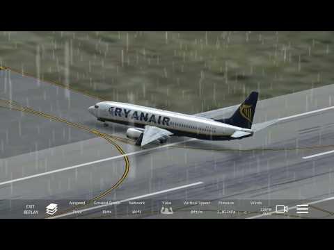 Landing Compilation at Los Angeles International Airport (Infinite Flight)