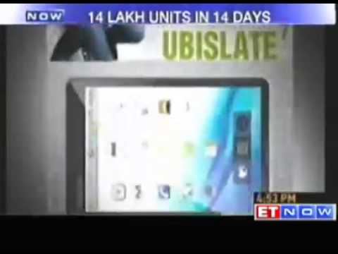 14 lakh units of Aakash tablet sold in 14 days