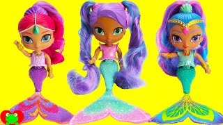 Shimmer and Shine Nila Color Changing Mermaids and Surprises