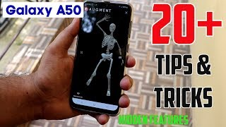 Samsung Galaxy A50 Tips And Tricks, Hidden Features, Top OneUI Features | Hindi