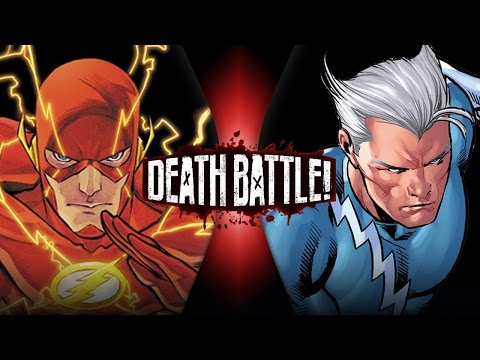 Flash VS Quicksilver | DEATH BATTLE!