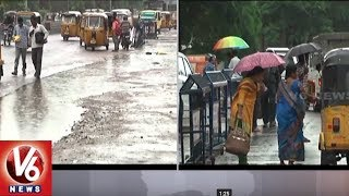 Heavy Rains Lashes United Karimnagar District, Normal Life Effected