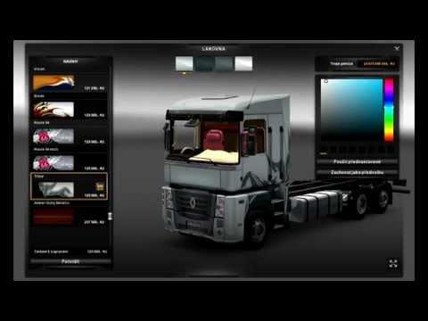 Euro Truck Simulator 2 Renault Magnum Mega Tuning Mod Tandem