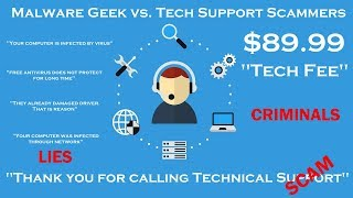 Malware Geek Exposes Tech Support Scam Criminals