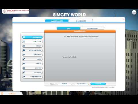 SimCity Europe Launch (first 30 minutes)