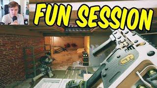 A fun Siege session w/Teo & Friends