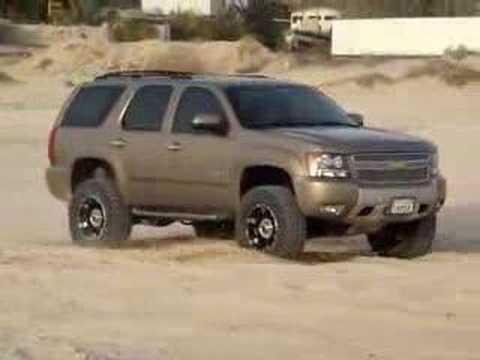 rancho 4'inch on tahoe z71 2007 - YouTube