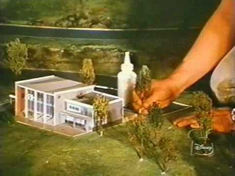 Original Epcot Presents The Epcot  Progress City Model Construction