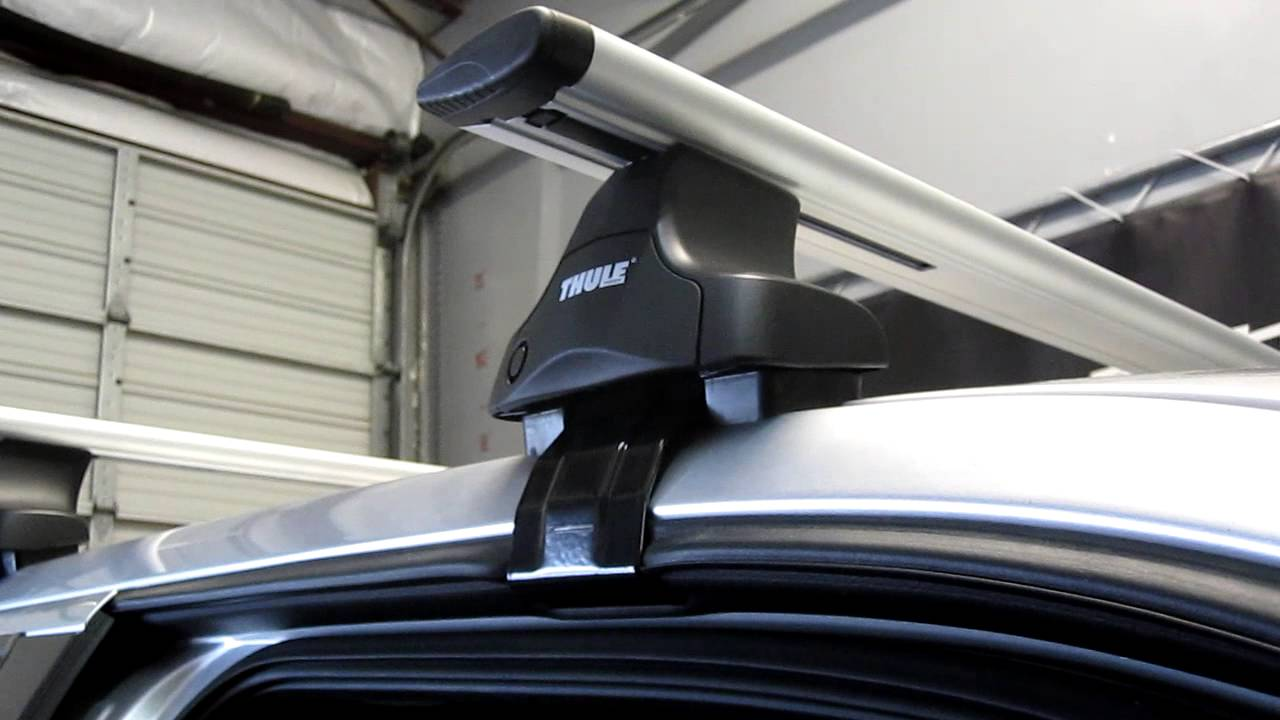 Ford F 150 Super Crew Cab With Thule 480r Aeroblade Roof