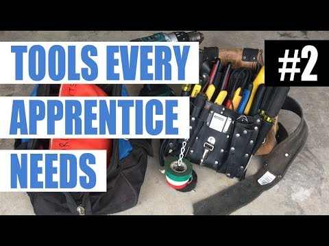 Episode 2 - Tools Every Apprentice Electrician Needs To Start Their Job