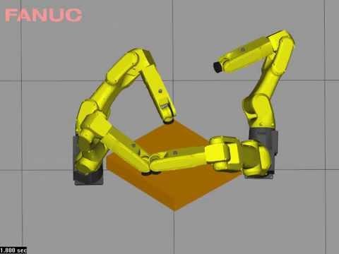 Robot Simulation test