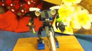 Lego mecha vs. sonic screwdriver 1