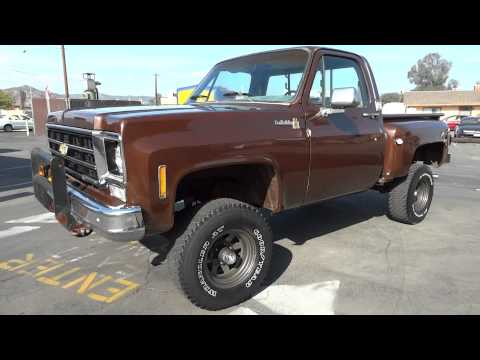 78 Chevy K10 K 10 Stepside Scotsdale 4x4