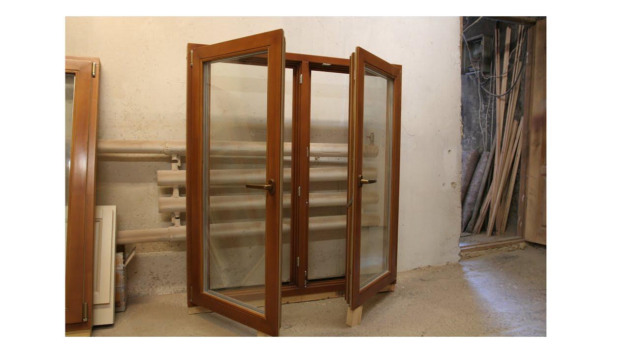 Деревянная рама со стеклопакетом своими руками6