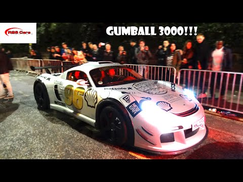 Gumball 3000 comes to Edinburgh. Supercars and Hypercars galore!