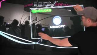 Monster Multitouch Screen auf der IFA 2009