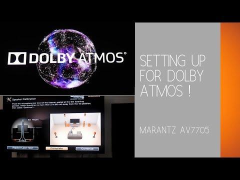 Setting Up a Dolby Atmos/DTS:X Home Theater | Marantz AV 7705 |