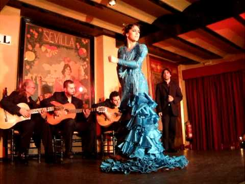 Flamenco at tablao el arenal seville spain 2010 youtube for Espectaculo flamenco seville sevilla