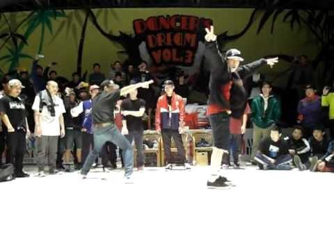 2012 dance dream vol.3 china bboy judge solo - bboy born & keebz