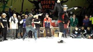 Bboy Born & Bboy Keebz Showcase @ Dance Dream China 2012