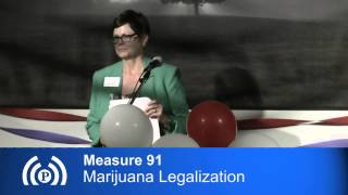 Measure 91: Marijuana Legalization