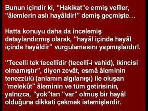 """Ahmed Hulûsi """"KURÂN'I NEDEN ANLAMIYORUZ"""" 3.Bölüm"""