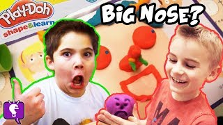 Play-Doh Shape and Learn Kit Toy REVIEW with HobbyKidsTV