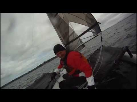 Weta Sailing In Port Townsend - Lets Go Swimming. video