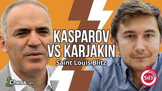 Blitz Chess Analyzed: Kasparov Plays The King