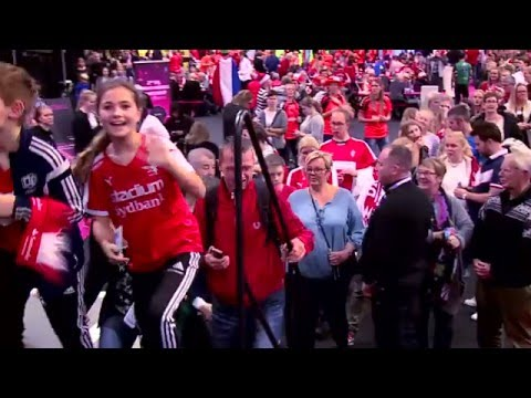 """""""The Fan Zone is the biggest success in the Danish sports history"""" - Denmark 2015   IHFtv"""