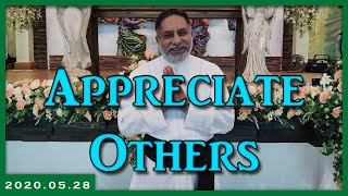 Appreciate others | 28.05.2020 | Daily reflection