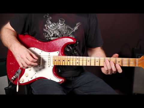 Funk Groove Guitar Lesson - Strat