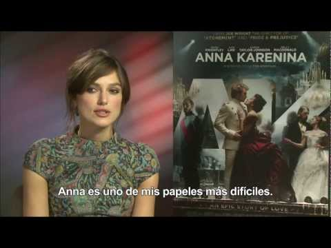 ANNA KARENINA -Entrevista a Keira Knightley