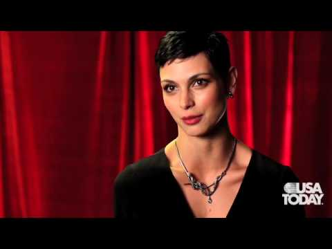 'V' star Morena Baccarin Video