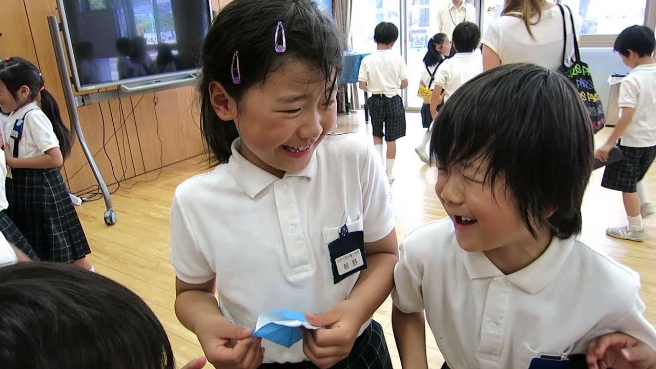 Japanese elementary school girls