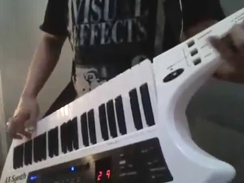 Ax-Synth Keytar Solo Hotel california