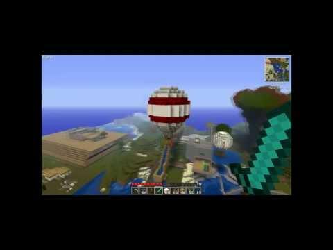Minecraft Hot Air Balloon WorldEdit Tutorial