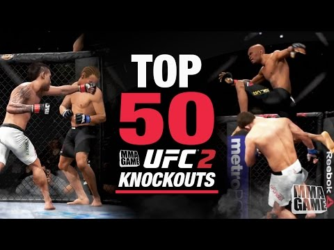 EA SPORTS UFC 2 - TOP 50 KNOCKOUTS - Community KO Video ep. 1