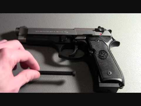 Beretta 96FS Shooting and Review
