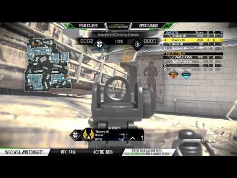 SCUF Showdowns Optic vs TK Game 2 SnD Octane September 18 2014