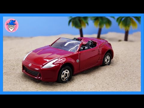 TOMICA TOMY toy car. The fastest car toy. car videos for Kids