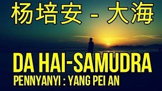lagu mandarin terjemahan indonesia,杨培安-大海