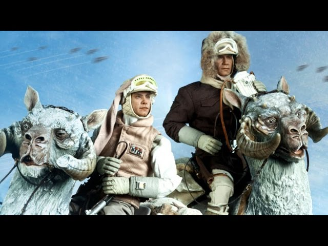 Star Wars: Unboxing Luke Skywalker & Han Solo Hoth Figures