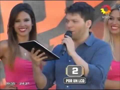 Lali Esposito en A todo o nada (04/02/13)