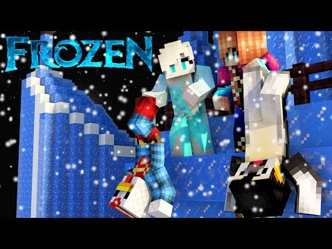 Minecraft Mods | MORPH HIDE AND SEEK - DISNEY FROZEN MOD! (Let it Go, Frozen, Elsa)