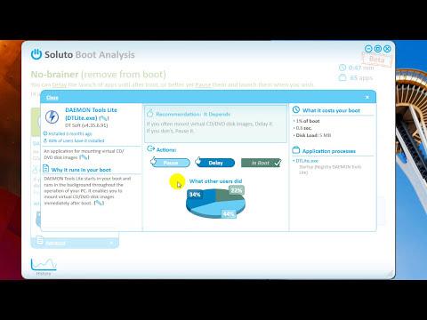 Systemstart optimieren mit Soluto - Windows XP / Vista / 7