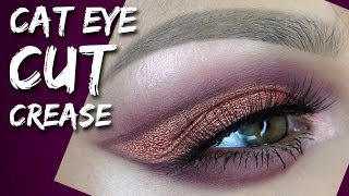Cat Eye Cut Crease Tutorial | Alexandra Anele